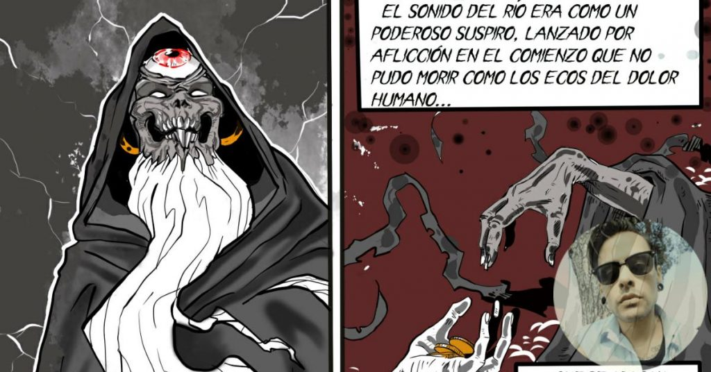 Caronte | Webcomic creado por ALETION | Cuarta parte