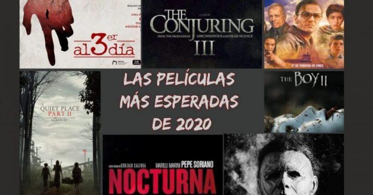 Las más esperadas películas de terror de 2020