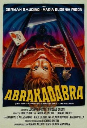 Abrakadabra black mandala