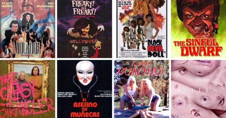 10 películas de terror extrañas, para NO ver en familia