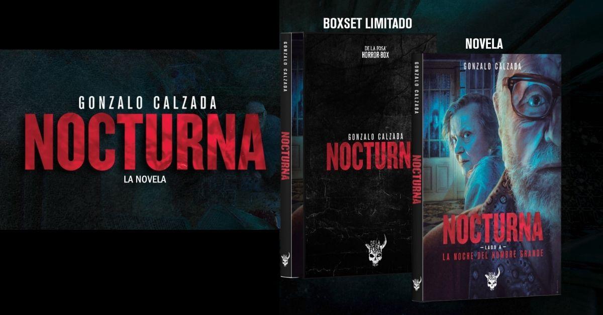 Nocturna: llega la novela de Gonzalo Calzada